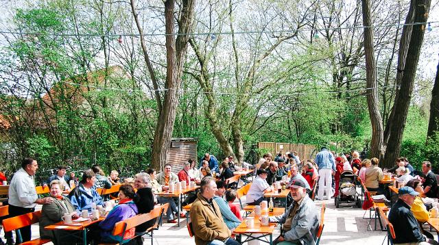 Brauerei Wagner Biergarten