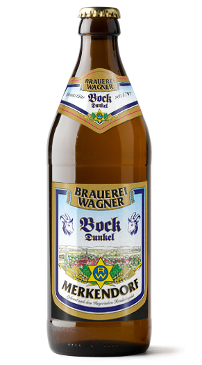 Brauerei Wagner Dunkler Bock Label