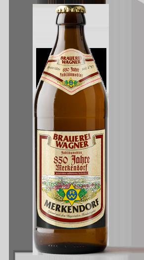 Brauerei Wagner 850 Jahre Jubiläumsbier Label